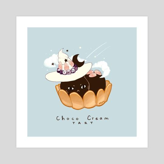 Choco Cream Cat by Nadia Kim