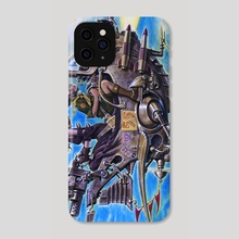 Moonrise Warriors - Phone Case by Paul Rivoche