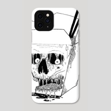 Monster Food: Takeout - Phone Case by XVIII