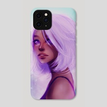 Inhale - Phone Case by Chixie