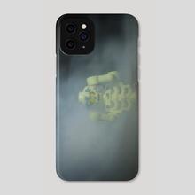 Lego skeleton in fog  - Phone Case by Vlad Stroe