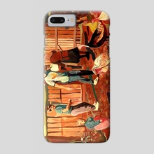 Village heros - Phone Case by Mario Romoda