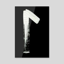 Medieval Runes 013 L Inverted - Acrylic by Wetdryvac WDV