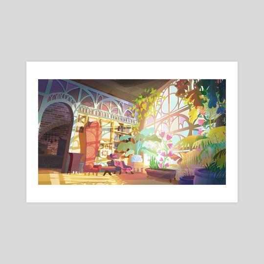 Dream Living Room by Nicholas Kennedy
