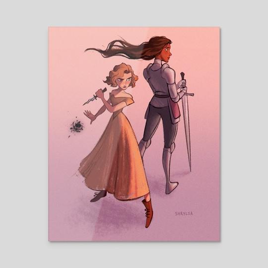 Knight & Princess by S