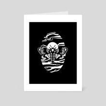 Moon Moth - Art Card by Emily Verbeten