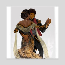 Dance - Canvas by muna abdirahman