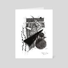 Monochrome vol_2_7 001 - Art Card by Dana Krystle