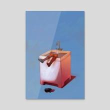 Sink - Acrylic by Angelica Alzona