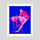 Birds of a Feather - Art Print by sunsheine