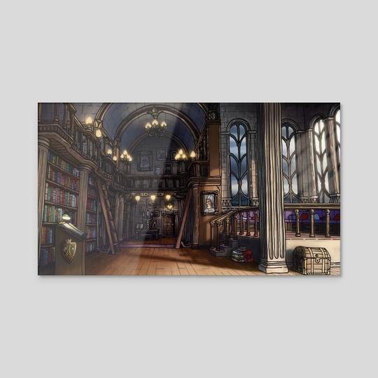 Library by Justino Sadur-Torres