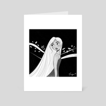 Ghost girl - Art Card by Georgie