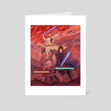 Masters and Apprentices - Art Card by Roberto Venegas