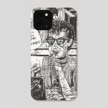 Man with Computer - Phone Case by Dan Archer