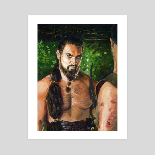 Khal Drogo Fanart by Guy Gondron