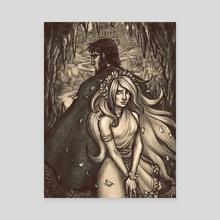 Beginnings - Canvas by asphodelon