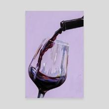 Wine  - Canvas by KÉHÌNDÉ
