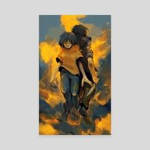 kill your heroes - Canvas by corviday