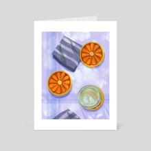 Coasters - Art Card by Katie Chapman