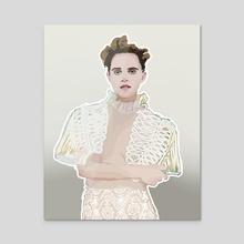 Feminist Poster - Acrylic by Joeri Kassenaar