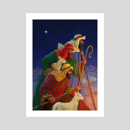 3 shepherds by Daniel Rodgers
