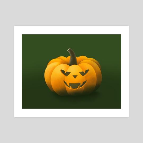 Halloween Pumpkin by Dzhenyo Dzhenev
