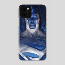 Energy Superman - Phone Case by Sebastian Ciaffaglione