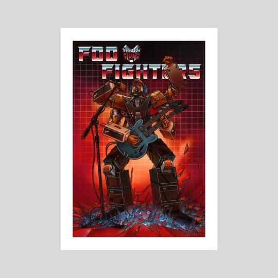 Foo Fighters vs Transformers  by JESSE V1TAL