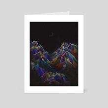 Moon Dreams Color - Art Card by Demart Denaro