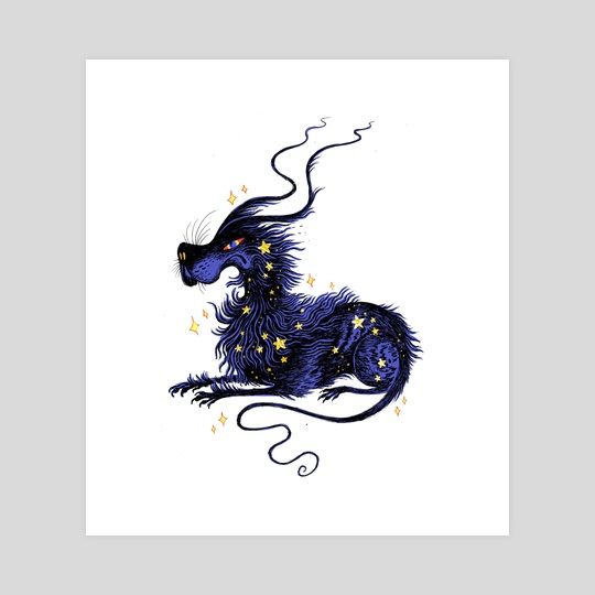 Starry Gelert by Holly L