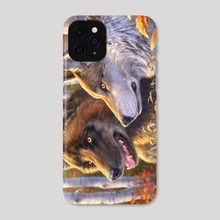 Alpha Pair - Phone Case by Bill Melvin