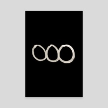 Hobo Sign - 007 - Chain Gang Inverted - Canvas by Wetdryvac WDV