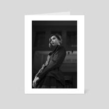 Lady_3 - Art Card by Duc Dang