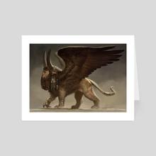 Lamassu - Art Card by Yigit Koroglu