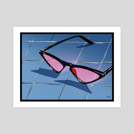 South Beach glasses by nata duke