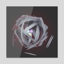 sludgy core - Acrylic by drewmadestuff