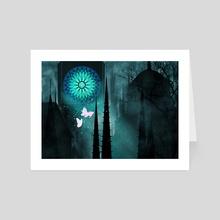 Moonlit Dance - Art Card by Anthony Pilgreen