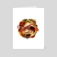 Bocas - Art Card by Luis Liendo