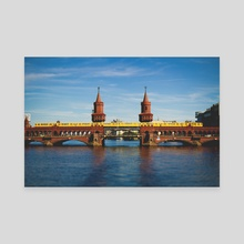 Berlin Bridge - Canvas by R Baumung