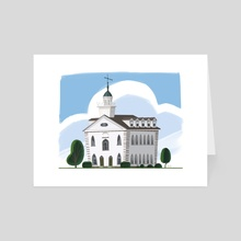 Kirtland Temple - Art Card by Matthew Eng