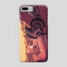 Strange Sunset - Phone Case by Jon Westwood