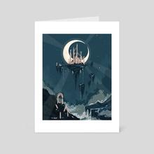 Moon Ruins - Art Card by Chelsea Faust