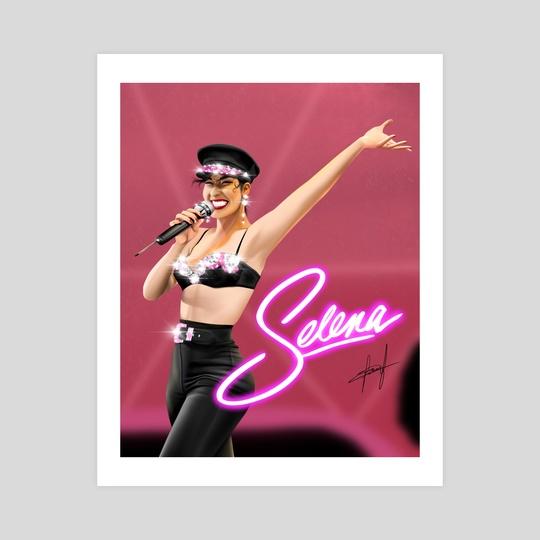 Selena  by Hamza Okai