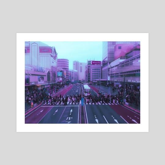 Aesthetic Shinjuku by Vu-Minh Nguyen