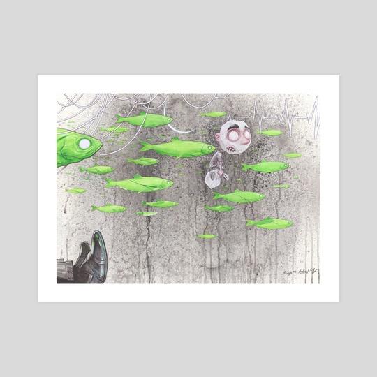 something fishy by Daniel Grzeszkiewicz