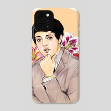 Floral Paul - Phone Case by Klaudia Gemballa