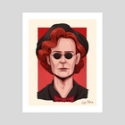Nanny Crowley - Good Omens - Art Print by Luz Tapia