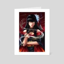 Yotsuyu - Art Card by PokuriMio