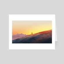 Warm Glow - Art Card by Reed Novak