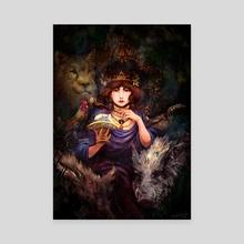 Circe the Enchantress - Canvas by teteo tolis